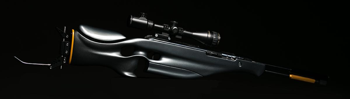 Custom gunstock butt plate LGU ATRAMA